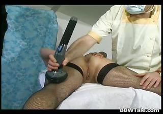 plump old whore got tortured by slutty part1