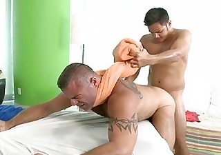 pleasuring a lusty homosexual man