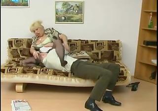 old maid & boyfrend