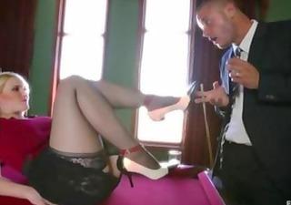 guy indulges in his foot fetish